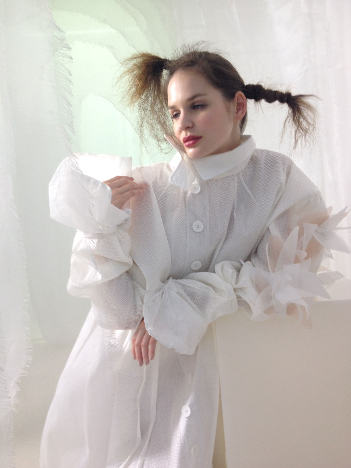 "Event - Shooting Editorial avec Ken Okada ""Collection SS16 in the pure white cocoon"""